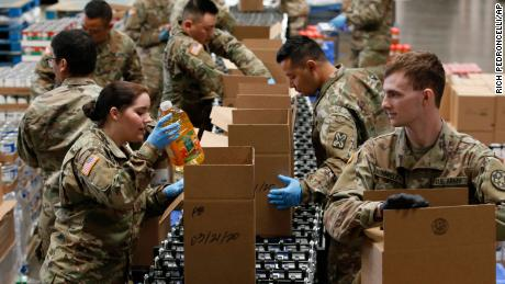 US military preparing to deploy additional forces to support coronavirus response