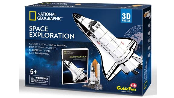 CubicFun National Geographic 3D Kids Puzzles Rocket Ship