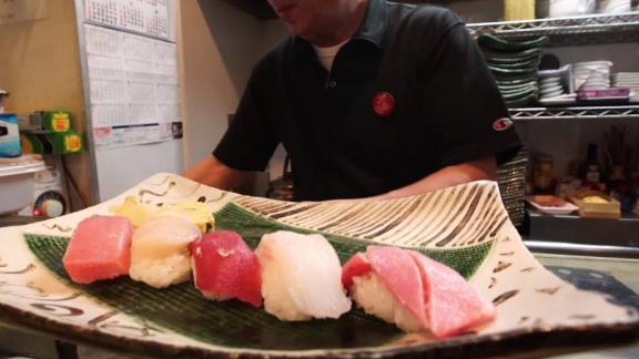 Japan coronavirus fish market sushi slump Essig pkg intl hnk vpx_00000506.jpg