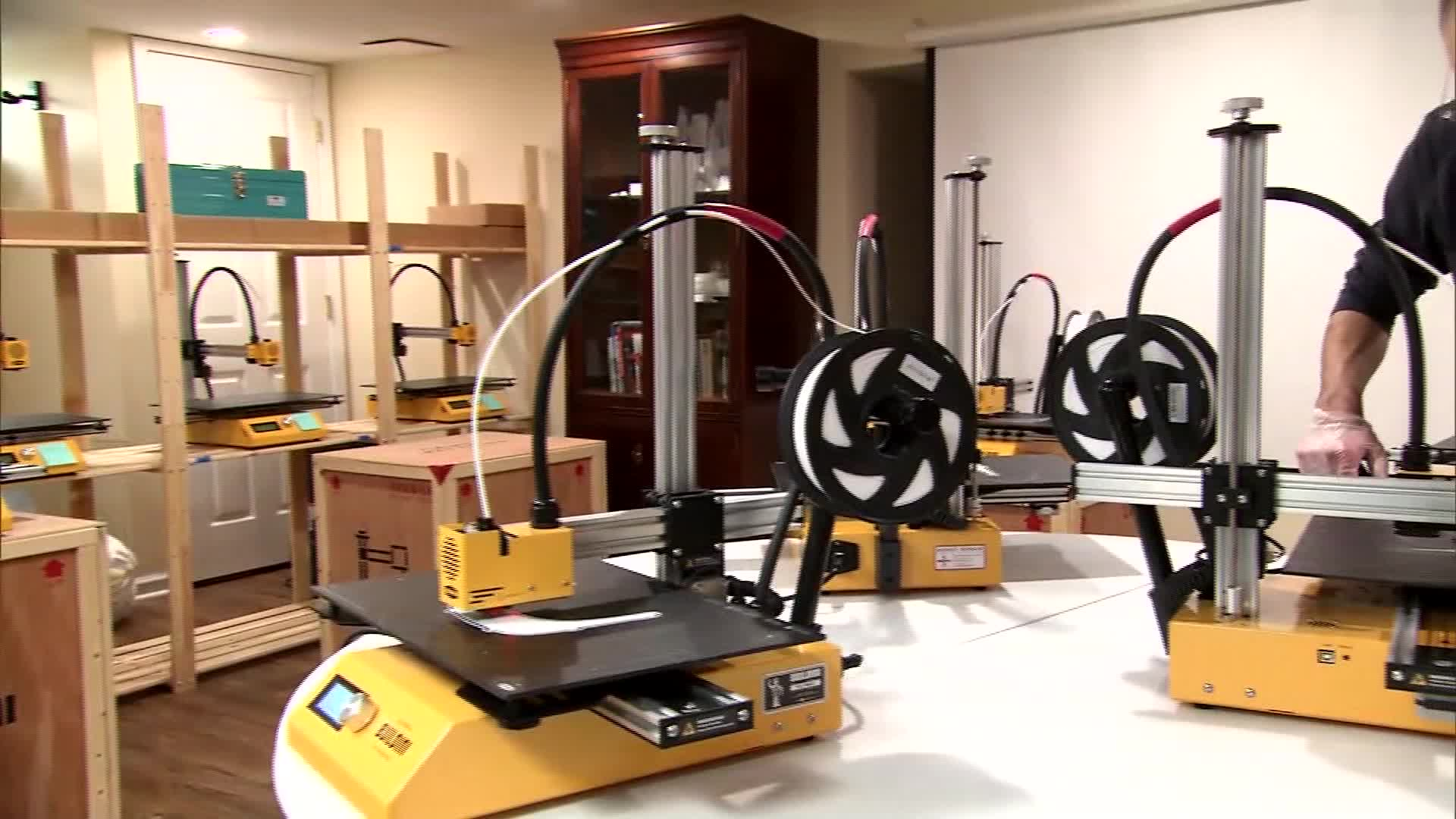 ESA - 3D printer EAC