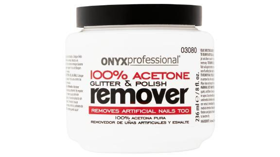 Onyx Professional 100% Acetone Glitter & Polish Remover