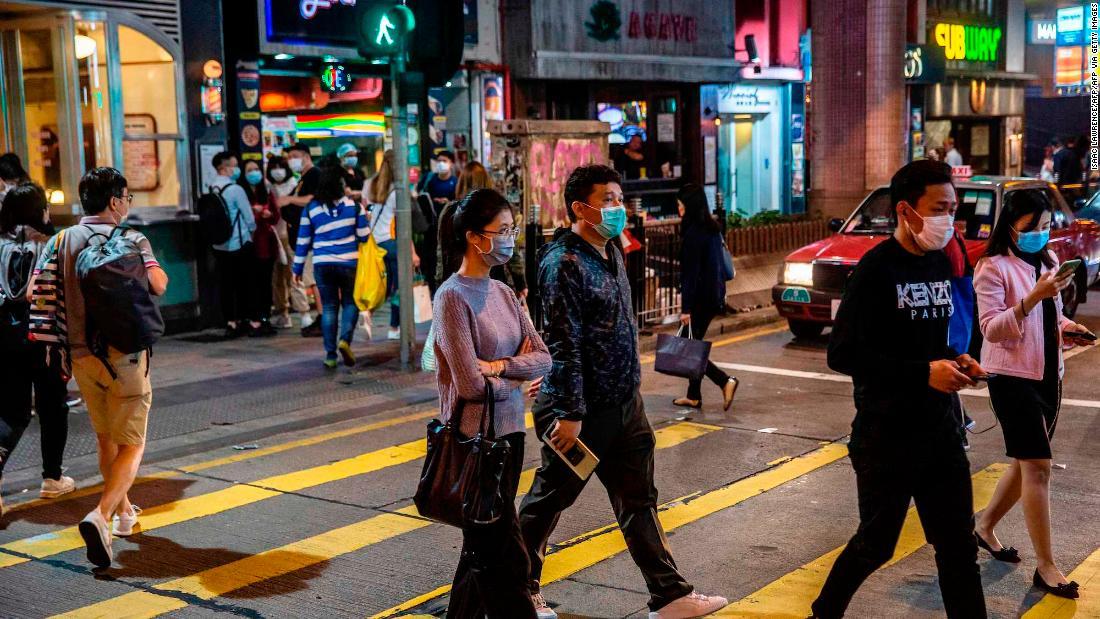 Hong Kong Verbote Eintritt zu allen nicht-Residenten