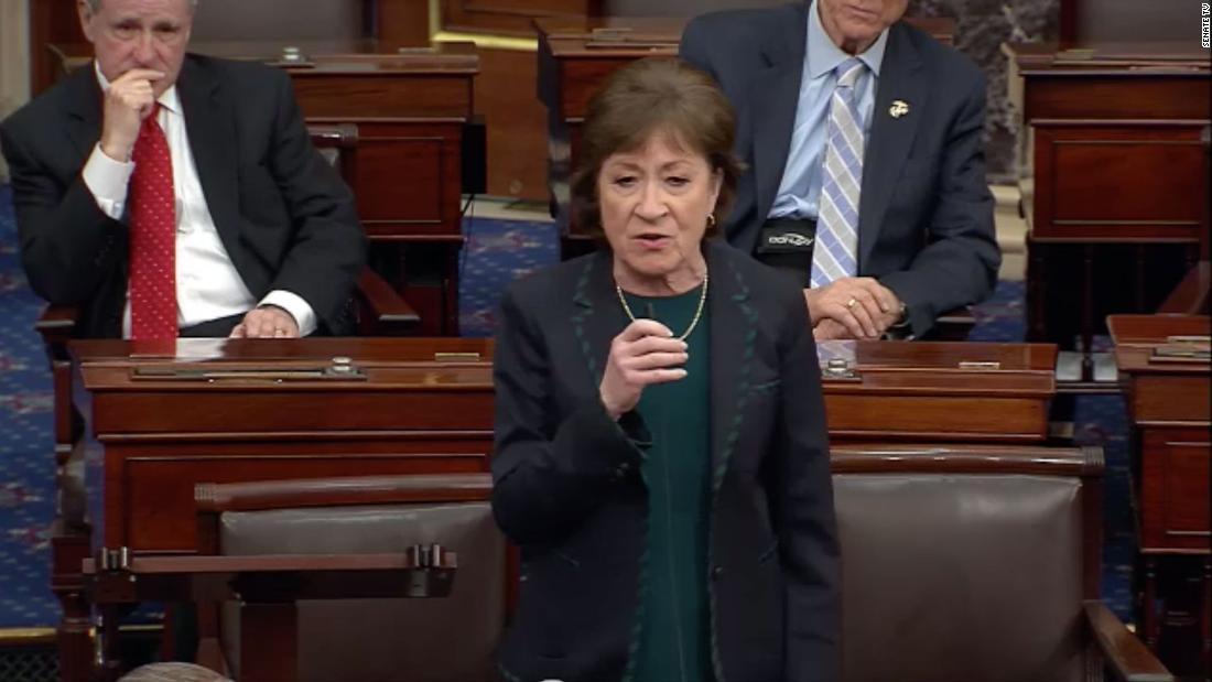Susan Collins says Trump can nominate a justice, but Senate vote should wait until after election