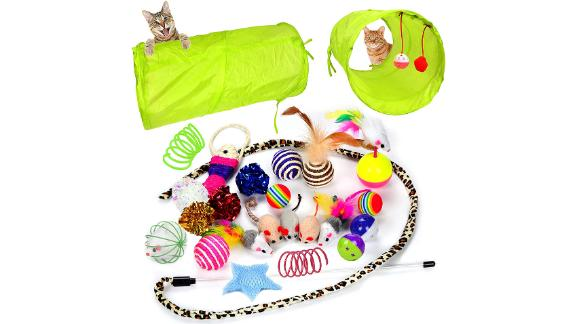 Youngever 24 Cat Toy Assortment