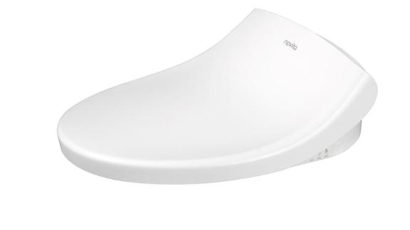 Kohler Novita Electric Bidet Seat for Elongated Toilets with Remote Control in White