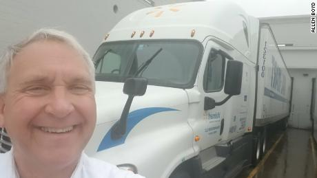 Allen Boyd said he's more vigiliant than usual, given that truckers may be targeted for the critical goods that they're carrying.