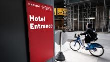 Marriott, which has begun to furlough workers, spent $150 million on buybacks so far this year at an average price of $145.42. Marriott is now trading at just $70.