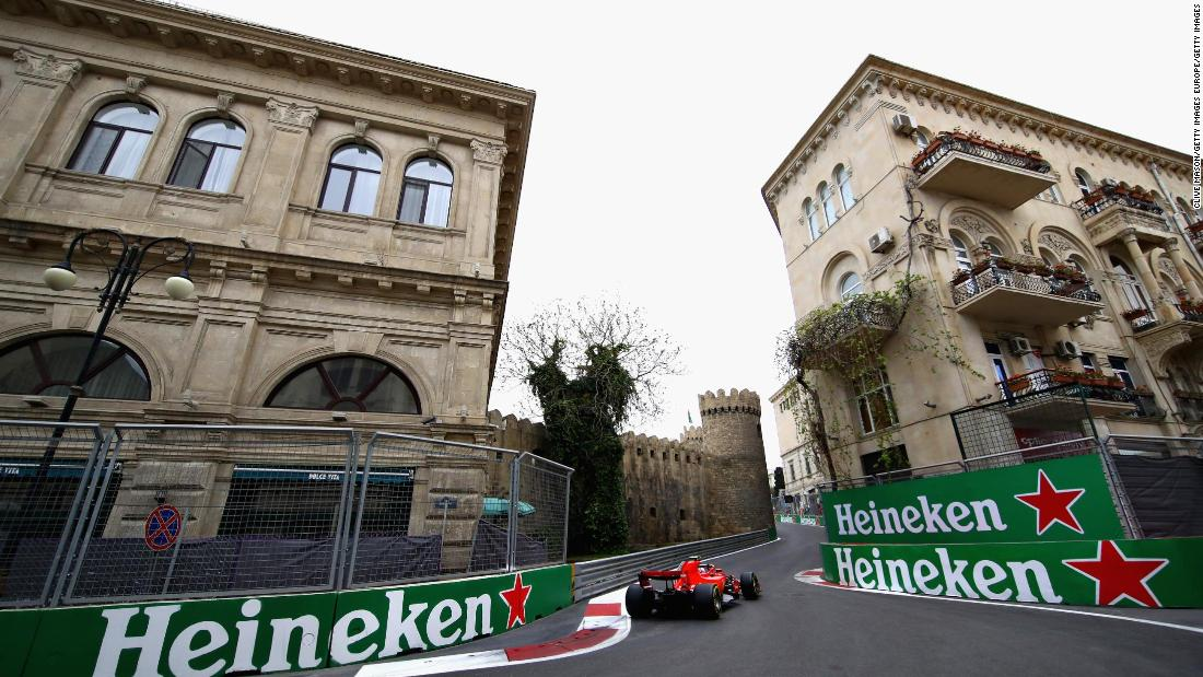 Azerbaijan Grand Prix postponed because of coronavirus pandemic thumbnail