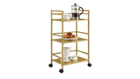 Novogratz Helix Bar Cart
