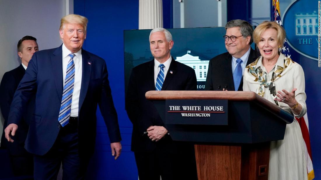 Trump Witze mit dem Arzt, nachdem Sie sagt, Sie hatte eine niedrige Fieber