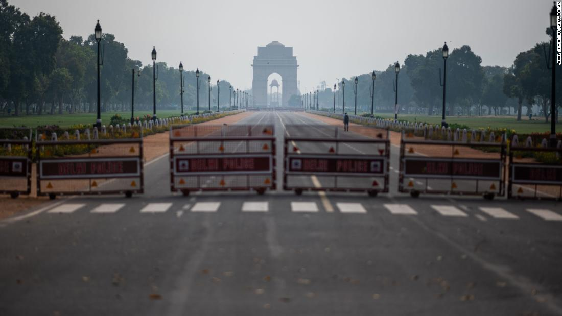 Indien Aufträge 3-Wochen-Bundesweit-lockdown
