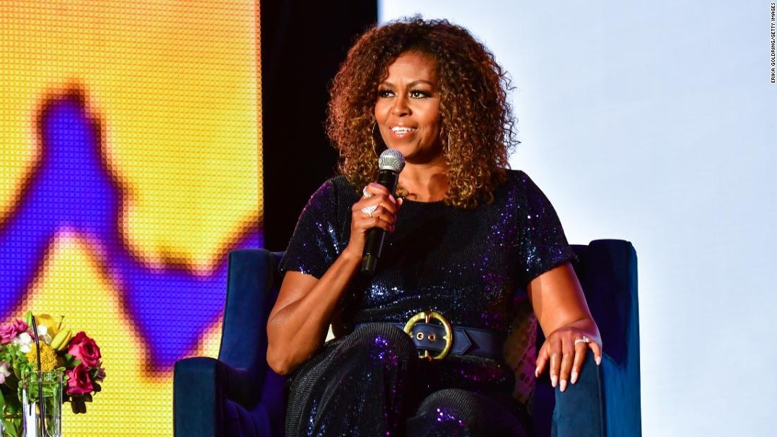 image of Hear Michelle Obama describe her family's self-quarantine