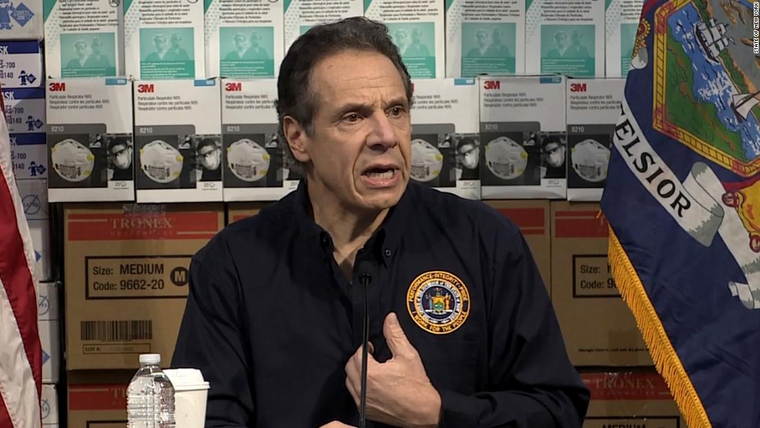 Cuomo zu FEMA: Sie wählen die 26k, die gehen, um zu sterben