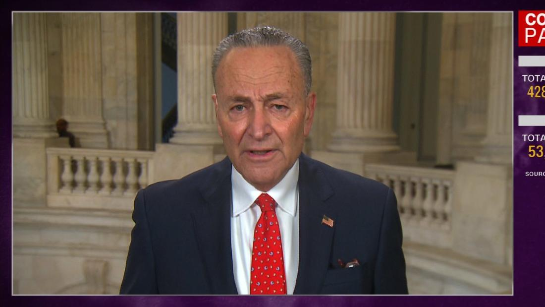 Schumer wants to deal with coronavirus crisis before talking infrastructure recovery plan