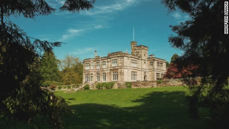 Hampton Manor has 45 acres of woodland and gardens.