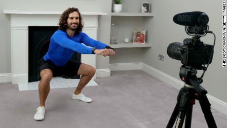 Joe Wicks, aka The Body Coach, will donate profits from YouTube PE sessions to the NHS (Photo by The Body Coach via Getty Images)