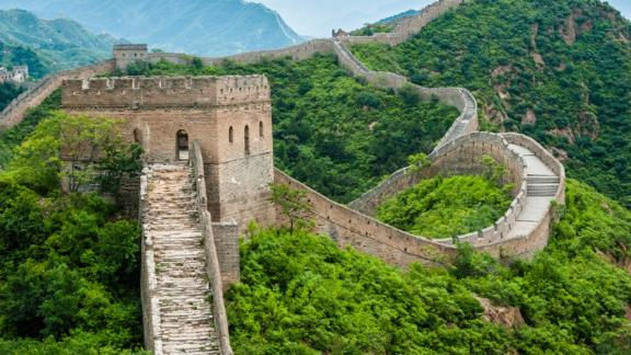 Great Wall of China in Jinshanling