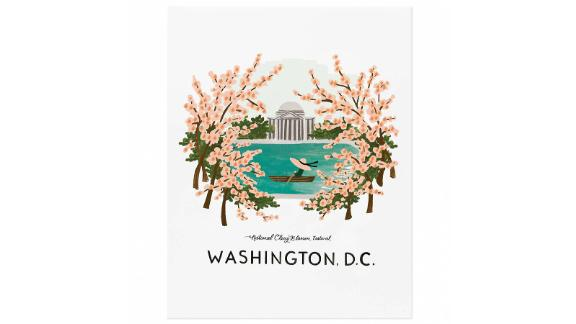 Rifle Paper Company Washington Cherry Blossom Print