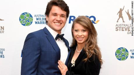 Bindi Irwin shares first photo of her secret zoo wedding