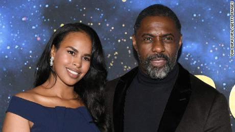 Sabrina Dhowre Elba (L) and Idris Elba  (Photo by Dia Dipasupil/Getty Images)