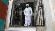 Spline rebele deținute de Siria pentru coronavirus & # 39; tsunami & # 39; - fără săpun, apă curentă sau perspectiva distanțării sociale