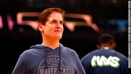 Dallas Mavericks owner Mark Cuban is one of the NBA owners committed to paying arena workers during the suspension of play.