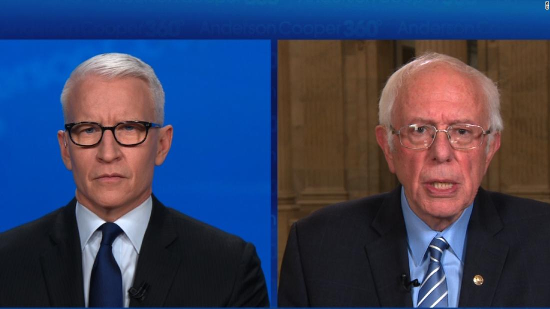 Sanders rips GOP senators for voting for tax cuts but objecting to increased unemployment benefits - CNN