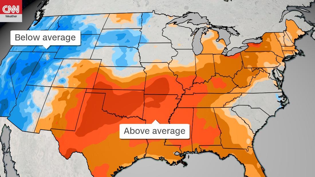 Νότια άνοιξη καύσωνα, σας κάνει να αισθάνεστε περισσότερο σαν καλοκαίρι