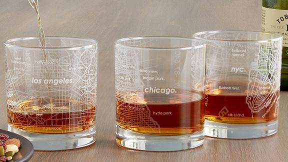 Well Told Urban Map Glass