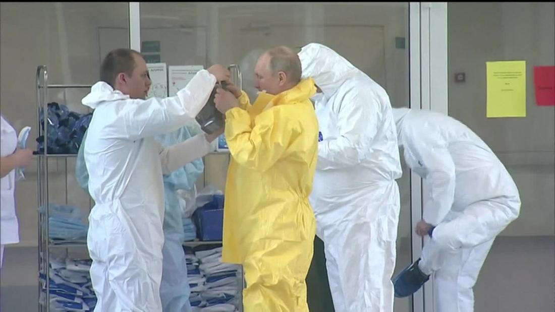 The Kremlin sends mixed messages on coronavirus as Russian cases spiral