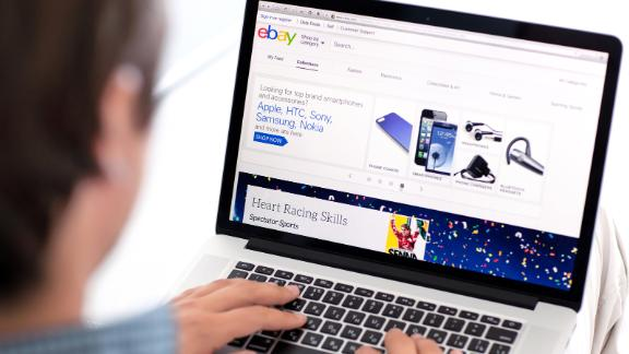 Selling items on eBay may qualify you as a small business and make you eligible for business credit cards.