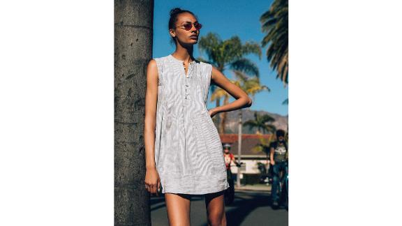 Isha Washed Linen Dress