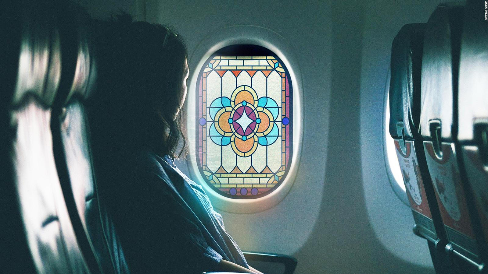 Stained Glass Prayer Windows For Planes Cnn Travel