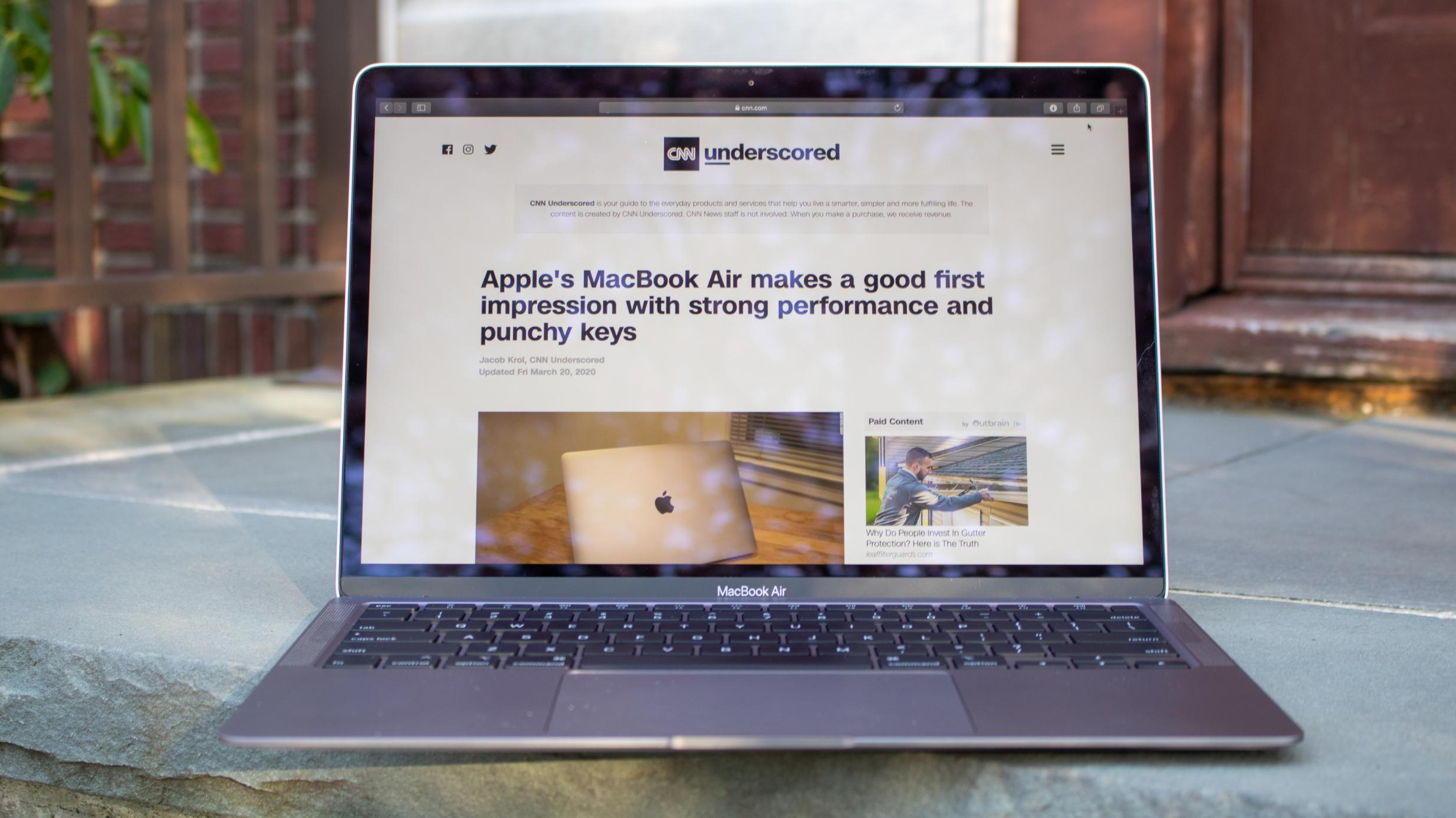 How To Improve Camera Quality On Macbook Air 2020 - ATCAMR