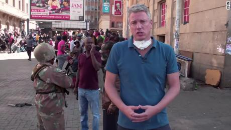 David McKenzie reports from Johannesburg, South Africa, as the country starts its 21-day lockdown.