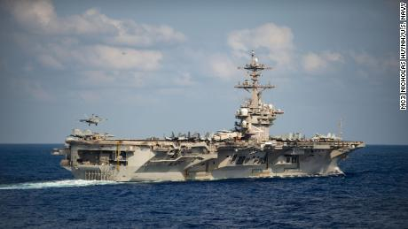 More than 1,000 of the USS Theodore Roosevelt's nearly 4,900-member crew tested positive for Covid-19.