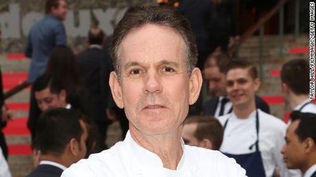 Chef Thomas Keller attends the 2015 Tribeca Film Festival Vanity Fair Party at the New York Supreme Court on April 14, 2015 in New York City.