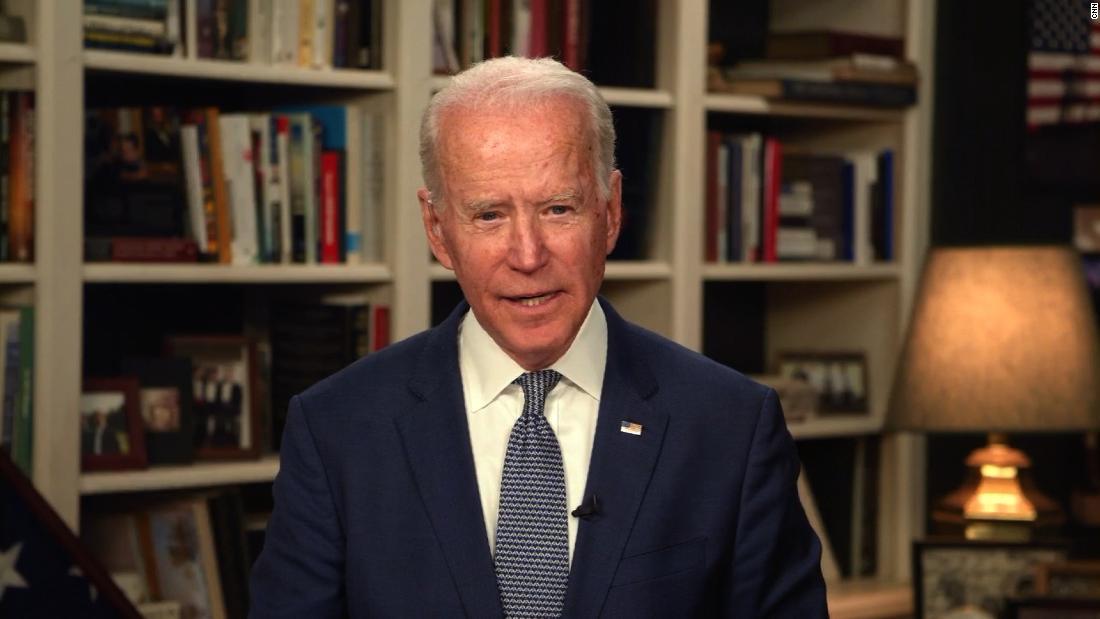 5 takeaways from Joe Biden's CNN town hall on the coronavirus response