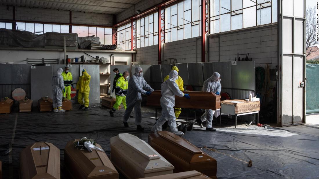 Italien ist coronavirus-Patienten sterben allein