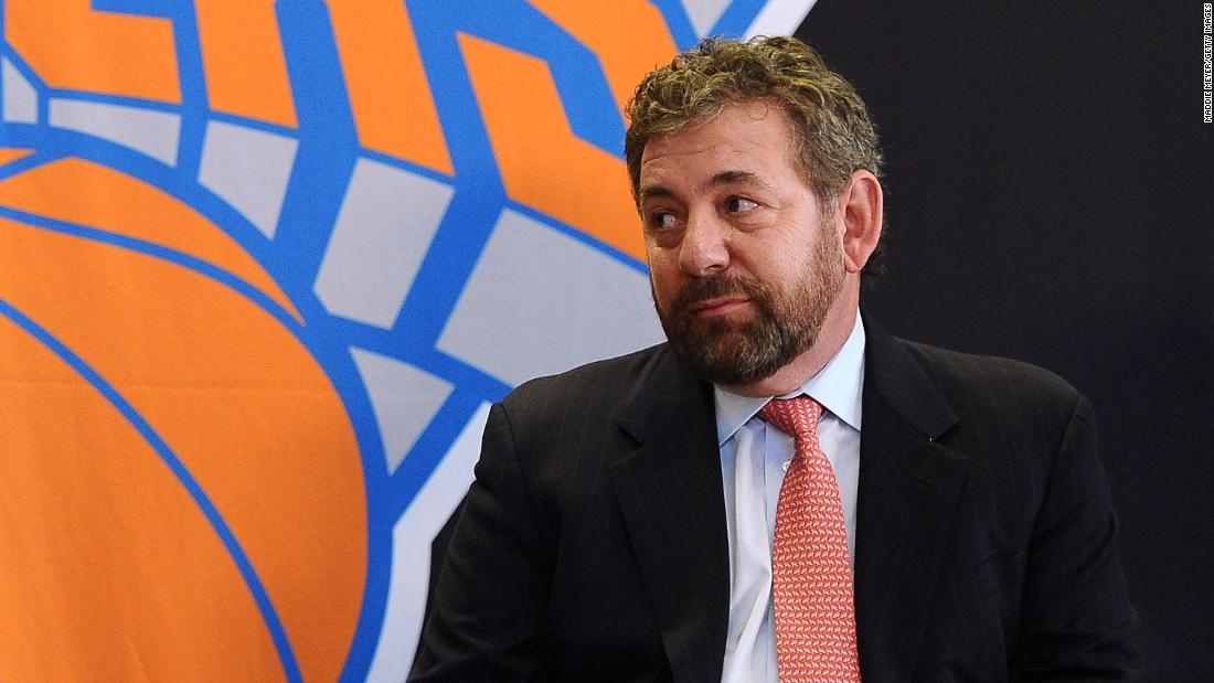 Ιδιοκτήτης των New York Knicks και Ρέιντζερς θετικό για coronavirus