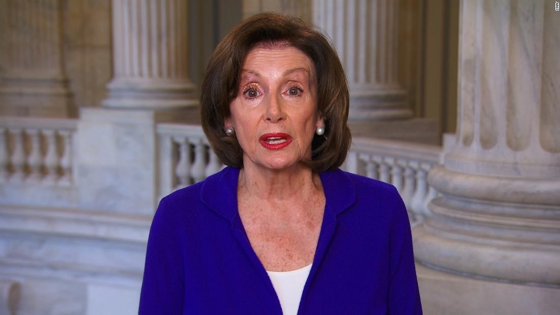 Pelosi on Trump's coronavirus response: 'As the President fiddles, people are dying'