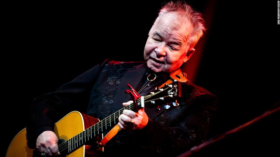 Singer-songwriter John Prine kritisch Kranken mit coronavirus