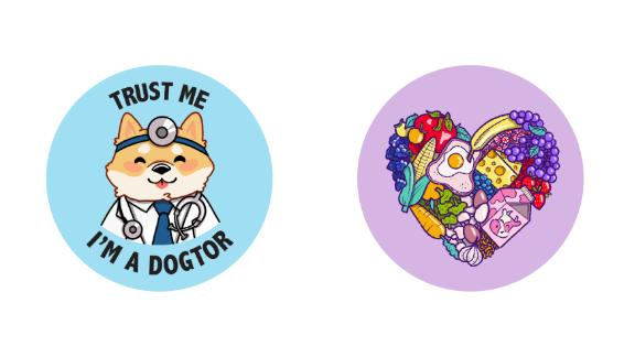 PopSocket Doctors without Borders and Feeding America designs