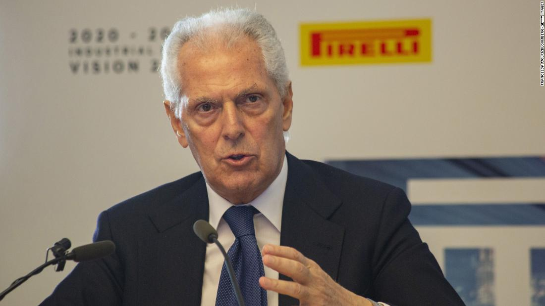 CEO of Italian tire maker Pirelli: US business leaders should prepare now for the worst
