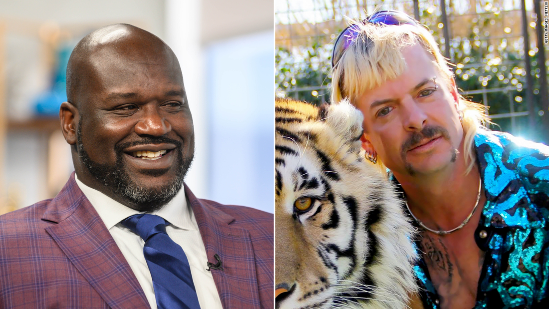 Shaquille O'Neal explains his 'Tiger King' cameo