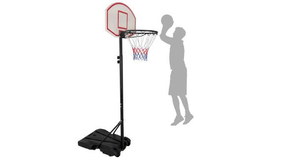 Portable Height Adjustable Basketball Hoop System Basketball Stand