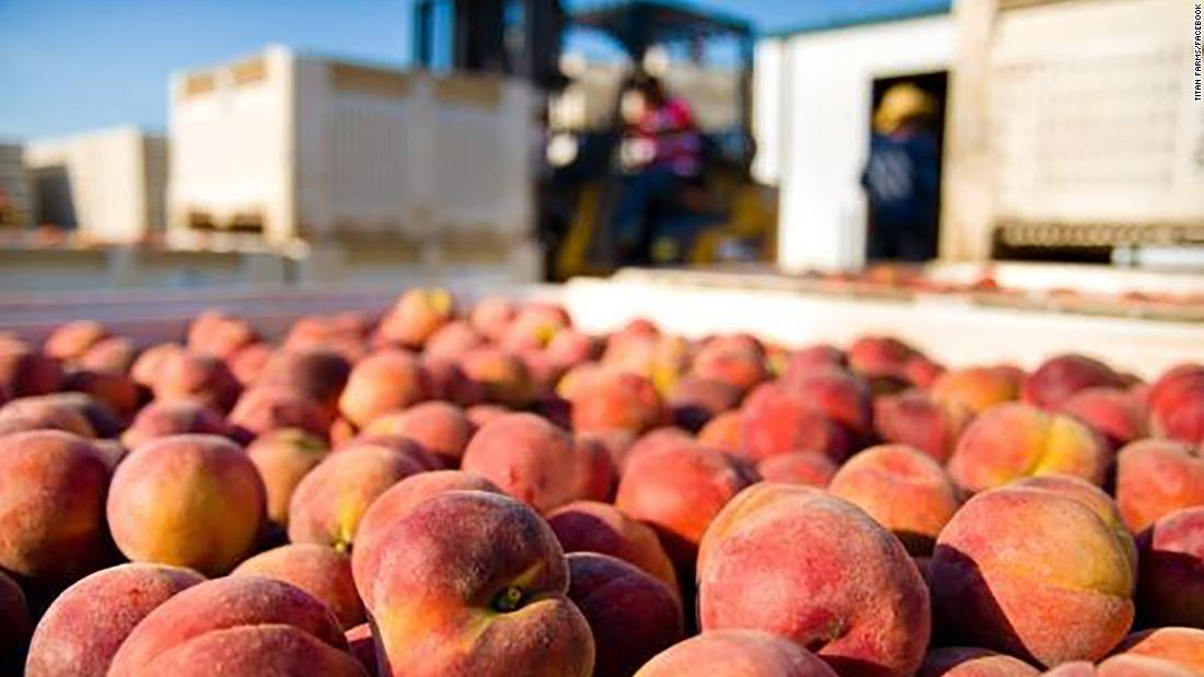 Peach farmers, among others, are concerned.