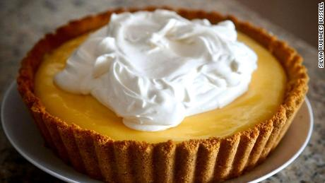 Silvia Rubiales Bussell No-Bake Meyer Lemon Cheesecake Pie