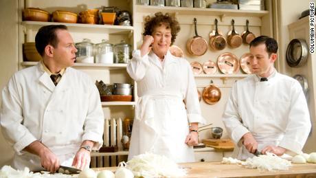 "Meryl Streep as Julia Child in ""Julie & Julia."""
