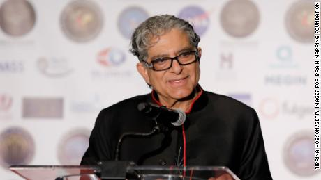 Deepak Chopra is known for his spirituality and leadership in the New Age movement.